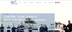 Website Post - Air Website Launch